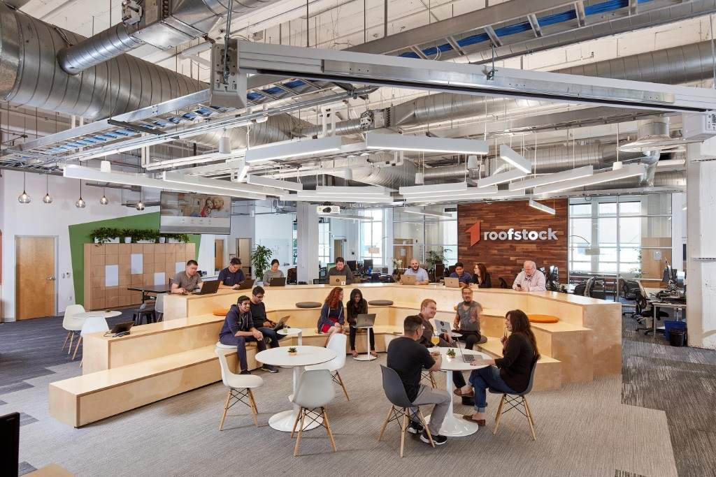 Roofstock office in Oakland, CA, by JRDV Architects.
