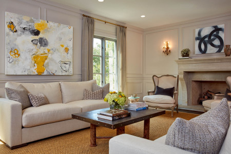 Hillsborough Colonial by Liz Kahn Design